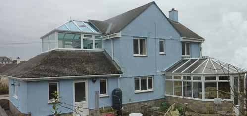 Cornwall home with Conservatory Heat Harvester installed